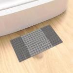Original Xiaomi Youpin Qualitell Bathroom Massage Antiskid Mat, Size: 389 x 855mm(Grey)