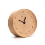 Original Xiaomi Youpin beladesign TC1714 Log Silent Sweeping Seconds Alarm Clock(Wood)