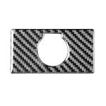 Carbon Fiber Car Rear Cigarette Lighter Switch Decorative Sticker for Toyota Tundra 2014-2018, Left Right Driving Universal