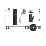RCSTQ Expansion Buckle Bracket Flashlight Night Flight Kit for DJI Mavic Air 2 / Air 2S /Mavic 2 / Autel EVO 2 / Femi X8 SE Drone, Single Flashlight