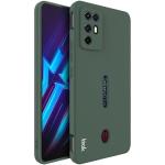 For ZTE Nubia Red Magic 6R IMAK UC-4 Series Straight Edge TPU Soft Protective Case(Dark Green)