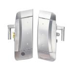 A5924 1 Pair Car Front Door Outside Handle 80607-CD41E+80606-CD01E for Nissan 350Z 2003-2009