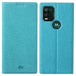 For Motorola Moto G Stylus 5G ViLi DMX Series Shockproof TPU + PU Leather Magnetic Attraction Horizontal Flip Case with Card Slot & Holder(Blue)