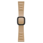 Modern Style Silicone Replacement Strap Watchband For Apple Watch Series 6 & SE & 5 & 4 40mm / 3 & 2 & 1 38mm, Style:Black Buckle(Walnut)