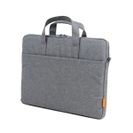 POFOKO A530 Series Portable Laptop Bag with Removable Strap, Size:13.3 inch(Light Gray)