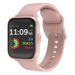 CS201C 1.3 inch IPS Color Screen 5ATM Waterproof Sport Smart Watch, Support Sleep Monitoring / Heart Rate Monitoring / Sport Mode / Call Reminder(Pink)