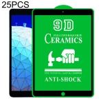 25 PCS 9D Full Screen Full Glue Ceramic Film For iPad Pro 10.5 / Air 3