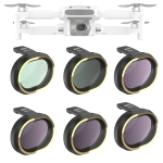 JSR for FiMi X8 mini Drone 6 in 1 UV + CPL + ND4 + ND8 + ND16 + ND32 Lens Filter Kit