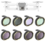 JSR for FiMi X8 mini Drone 8 in 1 UV + CPL + ND8 + ND16 + ND32 + STAR + NIGHT Lens Filter Kit