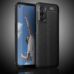 For OnePlus Nord N200 5G Litchi Texture TPU Shockproof Case(Black)