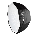 Godox Photo Studio Portable Octagon Speedlite Umbrella Softbox Reflector, Size:80cm