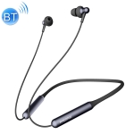 Original Xiaomi Youpin E1024BT 1MORE Stylish Bluetooth 4.2 Double Moving Coil Neck-mounted Wireless Bluetooth Earphone(Black)
