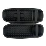 EVA Portable Speaker Storage Box Protective Cover with Shoulder Strap & Carabiner For JBL Charge 5 (Black)