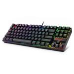 REDRAGON K552RGB RGB Lighting Mechanical Blue Shaft Gaming Wired Keyboard (Black)