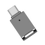 64GB USB-C / Type-C Zinc Alloy USB Flash Drive with Keychain