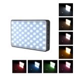 PULUZ 2500K / 9000K 120 LEDs Live Broadcast Video LED Light Photography Beauty Selfie Fill Light with Switchable 6 Colors Filters (Black)