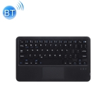 HB119B 10 inch Universal Tablet Wireless Bluetooth Keyboard with Touch Panel (Black)