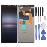 Original LCD Screen and Digitizer Full Assembly for Sony Xperia 8(Black)