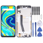 LCD Screen and Digitizer Full Assembly with Frame for UMIDIGI A7 Pro (Silver)