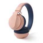 BOBo Kids Gift Bluetooth 5.0 Bass Noise Cancelling Stereo Wireless Headset With Mic, Support TF Card / FM / AUX-in(Pink)