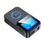 C33 Bluetooth 5.0 Audio Receiver Transmitter Portable MP3 Player with LCD Display Support Remote Control Camera