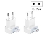 2 PCS XJ01 Power Adapter for iPad 10W 12W Charger & MacBook Series Charger, EU Plug