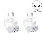 2 PCS XJ01 Power Adapter for iPad 10W 12W Charger & MacBook Series Charger, AU Plug