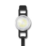 GOOFY Bike Light USB Rechargeable Tail Light Mountain Bike Night Warning LED Light, Colour:6003B Red White Light