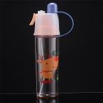 2 PCS Children Plastic Water Cup Outdoor Sports Spray Cup, Capacity: 600ml(Deer)