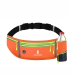 CWILKES MF-008 Outdoor Sports Fitness Waterproof Waist Bag Phone Pocket, Style: With Water Bottle Bag(Orange)