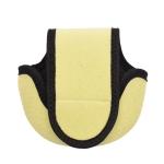 2 PCS Water Drop-Shaped Fishing Wheel Protective Case Neoprene Fish Wheel Bag(Green)