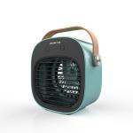 Household USB Portable Humidifying Spray Cooling Fan(Blue)
