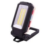 W559 2 COB + T6 Glare Car Inspection Working Light USB Charging LED Folding Camping Lamp with Hook + Magnet