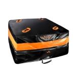 BOLTLINK Car Roof Waterproof Storage Bag SUV Car General Large-Capacity Luggage Bag, Capacity: 400L(Orange Black)