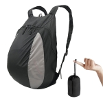 MTXB1014 Motorcycle Riding Helmet Bag Foldable Outdoor Sports Backpack(Black)