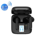 Pro 9 TWS Touch Control Bluetooth 5.0 Wireless In-Ear Earphone with LED Display(Black)