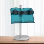NG3051 Lifting Reading Rack Children Multifunctional Reading Bookshelf Mobile Phone Tablet Stand,Type: Dual-use (Matte Blue Green)