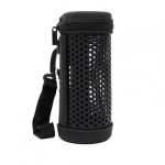 For JBL Flip 5 Bluetooth Speaker Storage Box Kaleidoscope Hollow Protective Cover(Black)