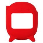 For JBL Clip 4 Bluetooth Speaker Silicone Case Protective Case(Red )