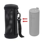 EVA Bluetooth Speaker Hollow Protective Case Portable Bag For Logitech UE MEGABOOM 3(Black)