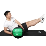 KR Balance Training Gravity Squash Soft Medicine Ball Fitness Sports Equipment without Filler, Random Colour Delivery(35x35x3cm)