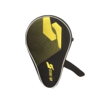 KR Gourd-Shaped Table Tennis Racket Waterproof And Thick Protective Cover(Black)