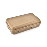 2 PCS Large EDC Tool Outdoor Shockproof Waterproof Sealing Box Wild Survival Storage Box(Mud Color)
