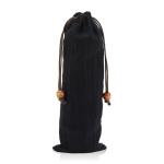 2 PCS Portable Coffee Machine Shaker Grinder Storage Cotton Bag(Black)