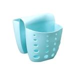 5 PCS TM15016 Saddle Drain Basket Kitchen Sink Sponge Storage Drainage Sink(Blue)