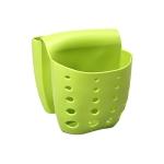 5 PCS TM15016 Saddle Drain Basket Kitchen Sink Sponge Storage Drainage Sink(Green)