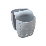 5 PCS TM15016 Saddle Drain Basket Kitchen Sink Sponge Storage Drainage Sink(Grey)