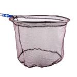 Foldable Stainless Steel Dip Net Head Fishing Net, Specification: Solid 40cm Glued Dense Mesh