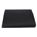 Garden Outdoor Air Heater Rainproof And Dustproof Cover Furniture Cover, Size: 221x53x61cm(Black Outside Silver Inside)