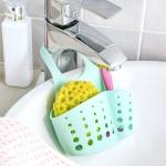 10 PCS TM15008 Adjustable Snap-On Sink Storage Hanging Basket Kitchen Drain Hanging Bag(Random Color Delivery)
